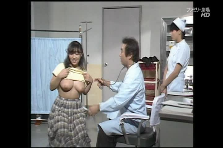 【中村京子】ドリフの鉄板コントで志村けんと加藤茶の名演技が楽しめる巨乳着エロ作品